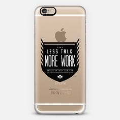 LESS TALK MORE WORK WOW! Check out this Casetify using Instagram and Facebook photos! Make yours and get $10 off using code: 5YA3E4