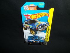 Hot Wheels Subaru Brat Blue HW Off-Road Hot Trucks 123/250 2015 #HotWheels