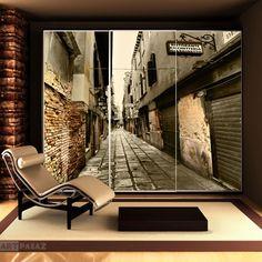 Weneckie wąskie uliczki