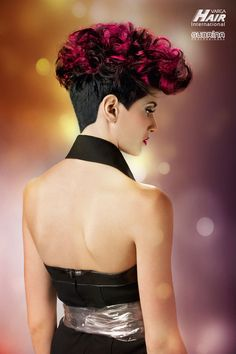 """MIDNIGHT ROCK Cut: Rok Klemenčič for Varga Hair Internationals - Color System """"Subrina Professional"""" Hair Affair, Cut And Color, Hair Trends, Rock, Collection, In Style Hair, Skirt, Locks, The Rock"""