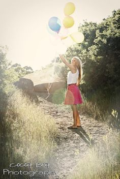 Senior Pictures - Balloons