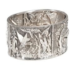 1stdibs - Amazing Victorian Silver Cuff explore items from 1,700  global dealers at 1stdibs.com