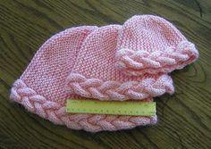 Ravelry: Braid-Edged Cap pattern by Judy Gibson