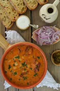 Romanian Food, Romanian Recipes, My Recipes, Favorite Recipes, Tasty, Yummy Food, Chowder, Stew, Curry