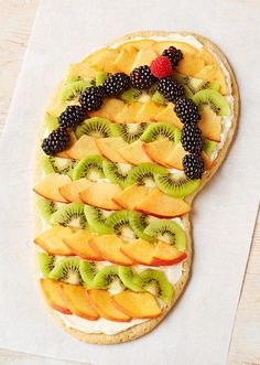Flip-Flop Fruit and Cookie Dessert