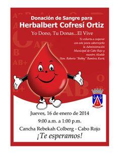 Donación de Sangre @ Cabo Rojo #sondeaquipr #donacionsangre #caborojo #cancharebekahcolberg