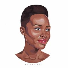 congrats @lupitanyongo on people magazine's most beautiful person 2014 #lupitanyongo #lupita #people #magazine #model #illustrator #illus #mostbeautiful Beautiful Person, Most Beautiful, Celebrity Portraits, People Magazine, My Drawings, Digital Art, Illustrations, Disney Characters, Life