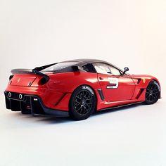 Beast! Ferrari 599XX