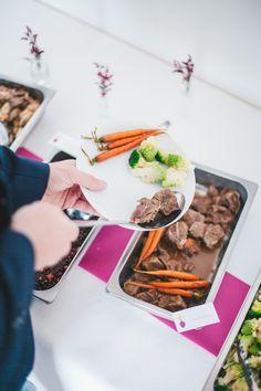 Plats à partager - buffet - épuré - couleur - traiteur - Paris