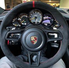 Alcantara steering wheel