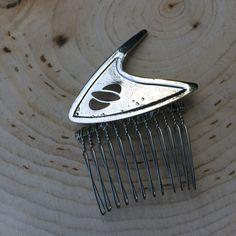 Star Trek Wedding Hair Comb by ShaesBridal on Etsy