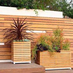 Finn Square Planter by Porta Forma