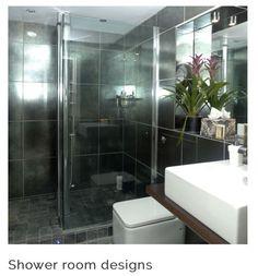 Medium shower sliding door