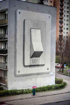 Street Art14 Marvelous Street Art Murals By Stefan Bacigal