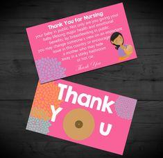 Thank You for Nursing Breastfeeding Support by RainyZebraDesigns