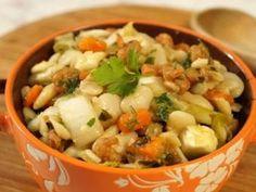 Tuscan bean and shrimp salad
