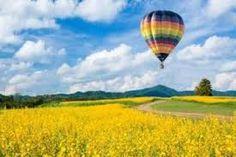 Balloon rides over Tuscany