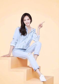 Cute Korean Girl, Cute Asian Girls, Liu Shishi, Tiffany Tang, Asian Celebrities, Chinese Actress, Beautiful Asian Women, Beautiful Moments, Asian Woman