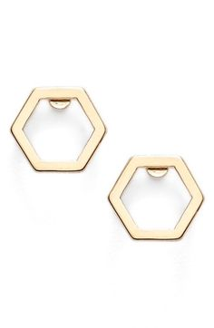 MARC+BY+MARC+JACOBS+'Lost+&+Found'+Geometric+Stud+Earrings+available+at+#Nordstrom