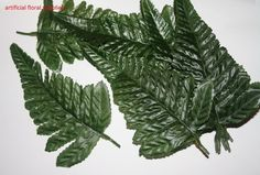 artificial FERN leaves wedding craft greenery foliage buttonholes CHOOSE QTY !!