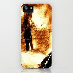 Jazz Me iPhone & iPod Case by Christa Bethune Smith, Cabsink09 - $35.00