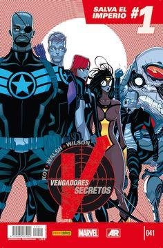 """""""Secret Avengers"""" Kot+Walsh+Wilson"""