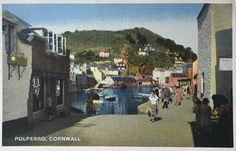 POSTCARD-POLPERRO HISTORY.Cornwall Fishing Villages, Cornwall, History, Pictures, Painting, Photos, Painting Art, Historia, Paint