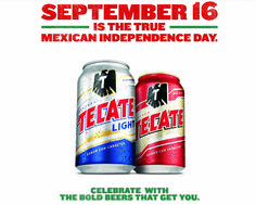 3d tecate beer cans by antonio luna via behance drink up tecate lights born bold program targets authentic mexican celebrations mozeypictures Choice Image