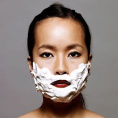 Is it time for a little laser hair removal?Dont put it off any longer. Smooth Skin Smooth Summer!  #moustachemay #facialhair #shavingcream [photo via: Pinterest]