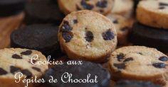 【100人れぽ感謝いたします】 サクホロ食感鉄板配合のチョコチップクッキーVer.です^^ ショコラとバニラと2種記載♡
