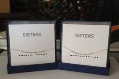 Set of 2 SISTERS 14K Gold Filled or by ErinElizabethCarson