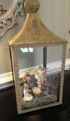 Lantern nativity