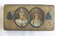 Rowntree's vintage commemorative chocolate tin (City of London - Coronation of King George VI, 1937) - www.vanishederas.com