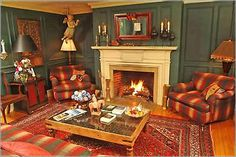 The Captain Lindsey House in Rockland, Maine - A visit by paranormal experts confirmed what inn proprietors and former sea captains Ellen and Ken Barnes have been told by guests for years. The presence of the inn's namesake, Captain George Lindsey, can be strongly felt in this living room pictured above, especially around a certain chair.