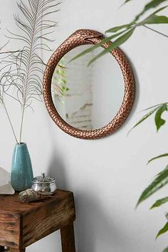Magical Thinking Metal Snake Eternity Mirror