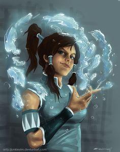 Avatar - The Legend of Korra by Enes Dirig