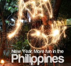 NEW YEAR. More FUN in the Philippines! Places Around The World, Around The Worlds, Philippines Tourism, Tourism Department, Filipina, More Fun, Beautiful Places, Childhood, America