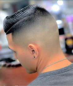Mens Haircuts Fade Combover Style
