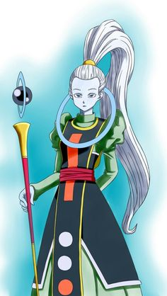Vados (Dragon Ball Super) by MangaKu-art Dragon Ball Gt, League Of Legends Characters, Female Characters, Dbz, Goku, Akira, Angeles, Fight Night, Awesome Anime