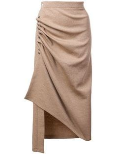 Browse the superb asymmetrical skirts edit at Farfetch. Find ruffled skirts, wrap skirts & more from this luxury asymmetric skirts range. Long Striped Skirts, Big Skirts, Floral Pleated Skirt, Draped Skirt, Beach Wrap Skirt, Leopard Print Skirt, Asymmetrical Skirt, Printed Skirts, Skirt Outfits