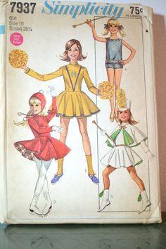 1960s Vintage Simplicity Pattern 7937 Girls by TabbysVintageShop, $7.50