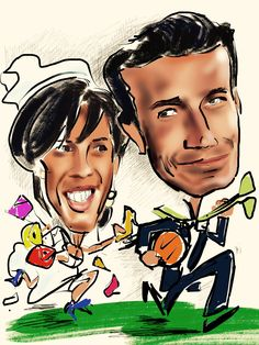 Sposi di corsa!!
