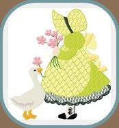 Sunbonnet Sue & Sam Too by Eileen's Digi-Delights