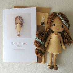 Pocket Poppet Kit - Audrey by Gingermelon on Etsy