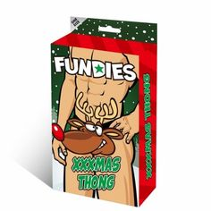Xxxmax Thong XXXMas Thong for men one size. Let Santa's trusty reindeer Rudolf's red nose show you the way! This XXXmas Thong is better than anything found under the Christmas tree offering a sexy fit and endless laughs.