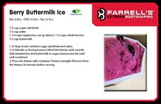 Cool with this sweet summer treat from our farrell s cookbook fxb
