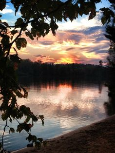 Sunset at Bear Head Lake State Park near Ely, MN Photo by: Jeanne Peloquin