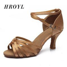 5a3de71d3bc Comprar Venta al por mayor nuevo zapatos de baile latino de baile de salón  de baile de Tango salsa zapatos de baile de 5 cm y 7 cm de tacón para mujer