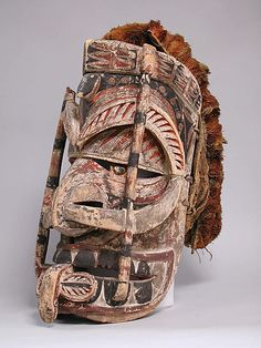 Tatanua mask from Papua New Guinea