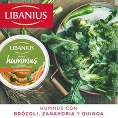 ¡Disfrútalo dipeado con chips, vegetales crudos, galletas saladas o como más te guste! #Libanius #VeggieHummus #Dip